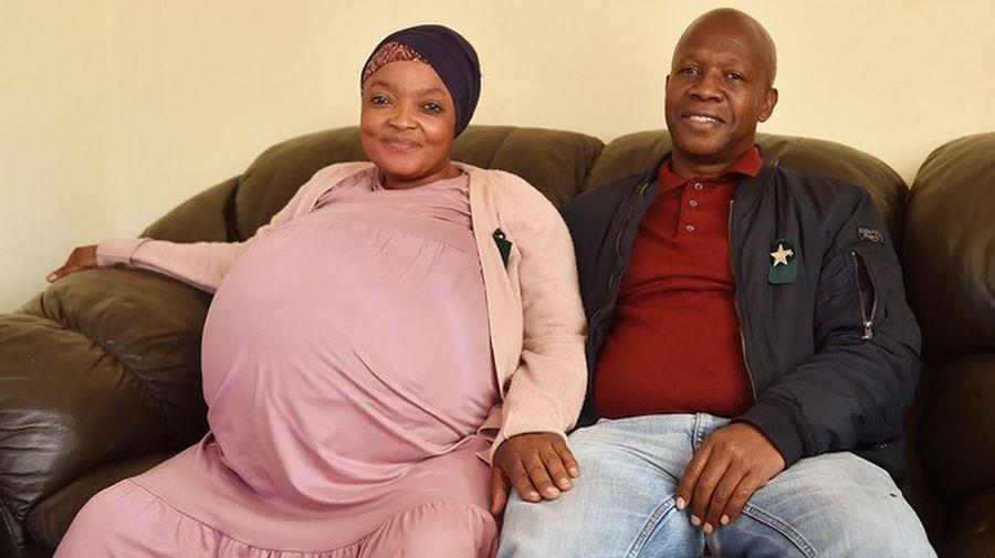 37-річна жінка з ПАР побила світовий рекорд, народивши відразу десять дітей