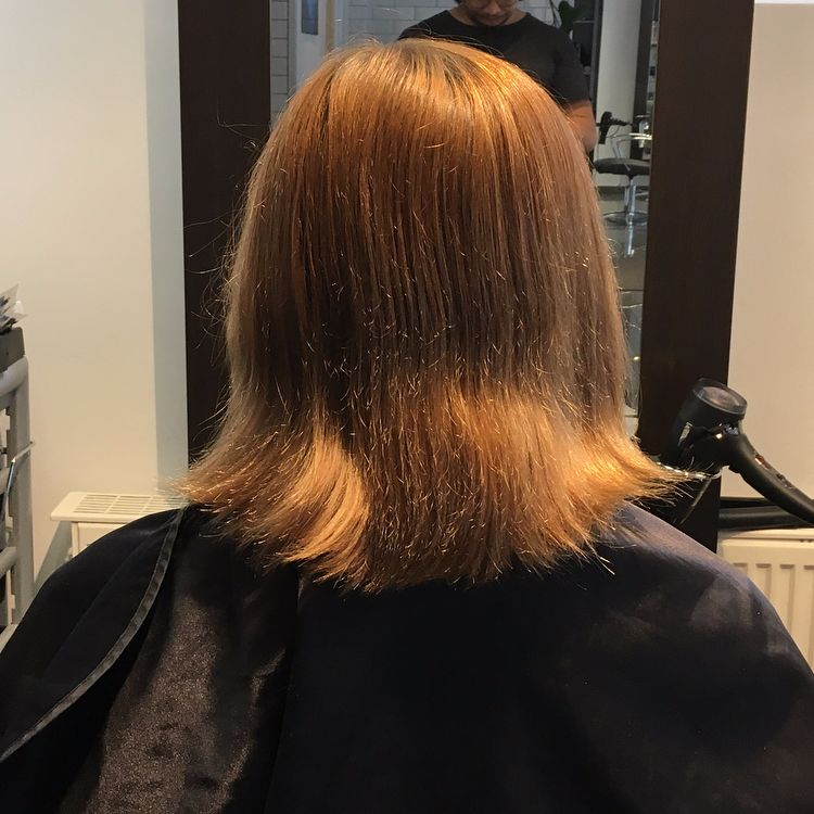 Balayage \u0026 Klippning , Kort hår Balayage \u0026 Klippning , Kort hår
