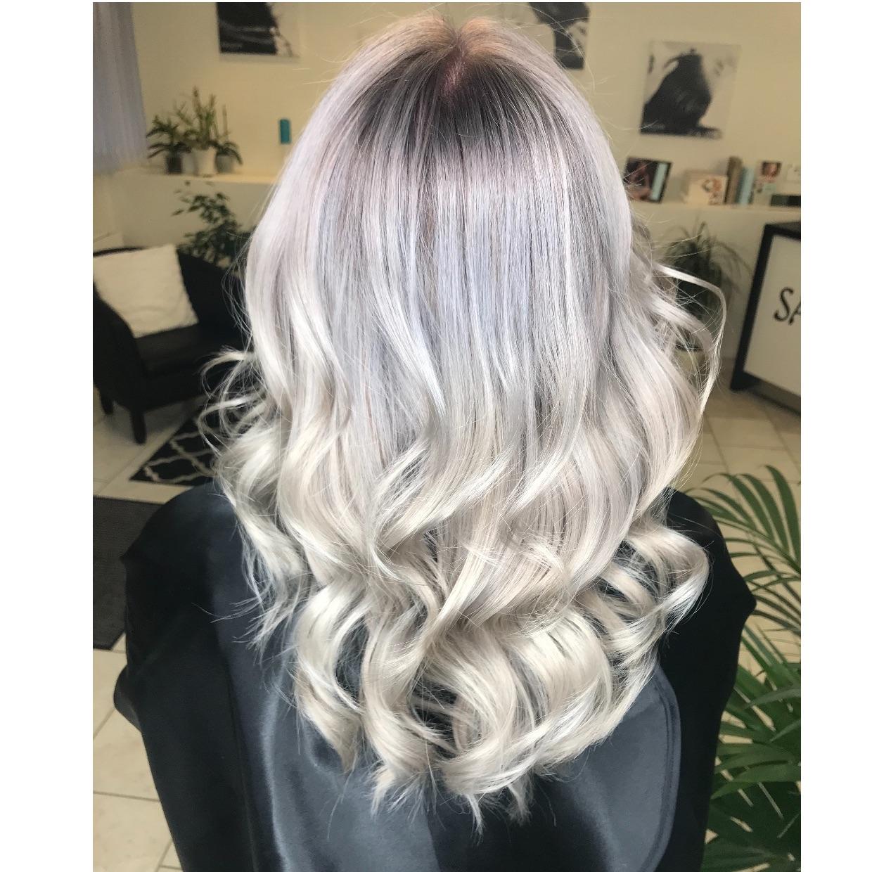 Balayage/ombré långt hår inklusive, bottenfärg/colormelt, olaplex och  nyansering