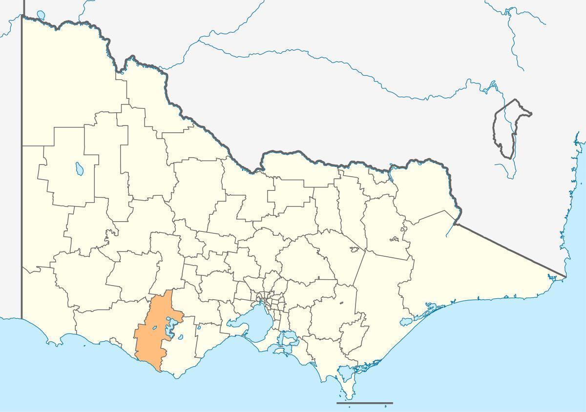The Shire of Corangamite local government area