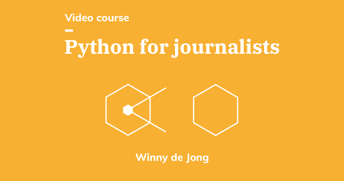 Tw python for journalists