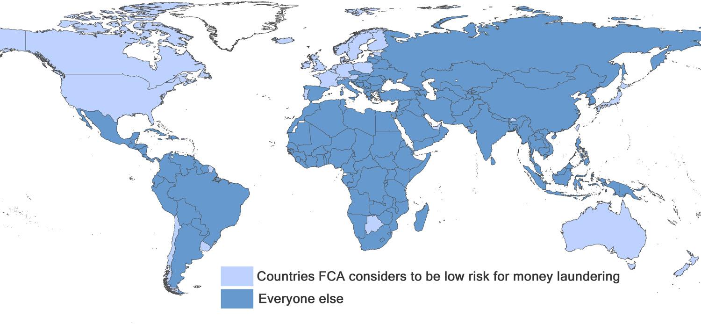 High risk map