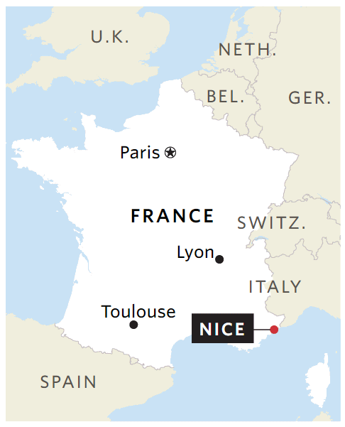 Map Of France With Paris Highlighted.Long Read The Essential Lies In News Maps Datajournalism Com
