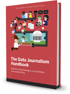 Data Journalism Handbook Cover Image image