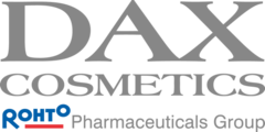 Logo dax rohto pharmaceuticals group