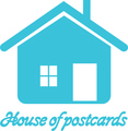 House of postcards logo kolor