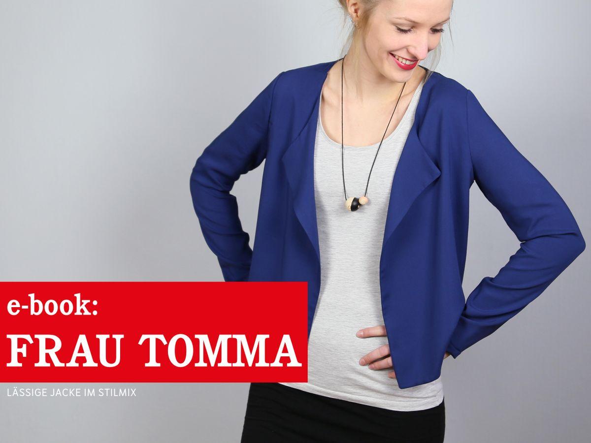 Produktfoto von schnittreif für Schnittmuster Frau Tomma