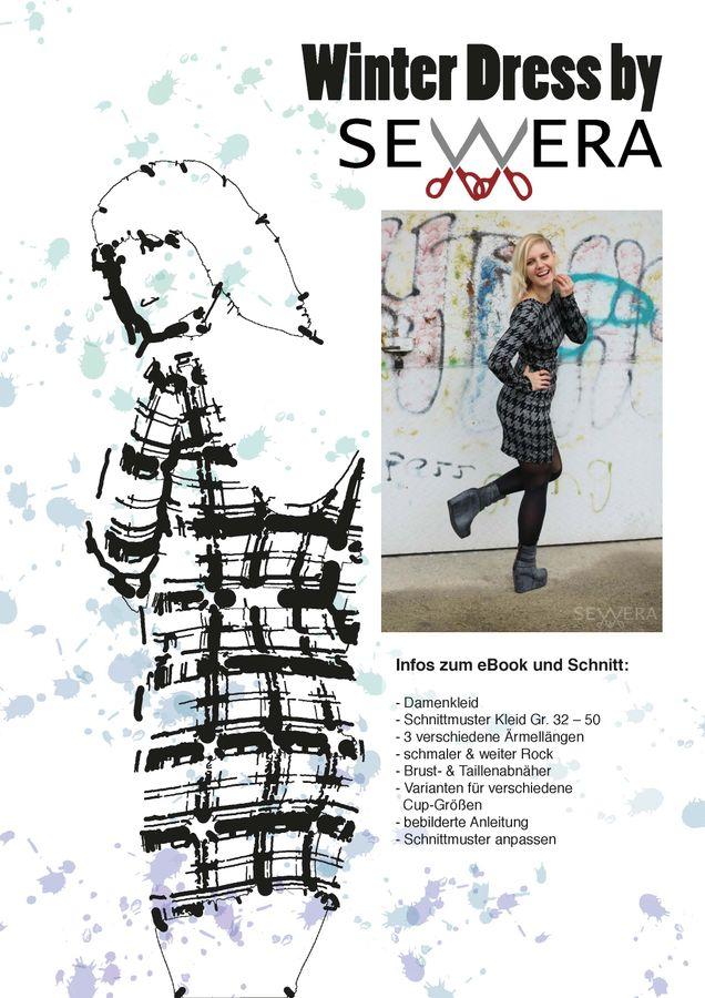 Produktfoto von sewera für Schnittmuster Winter Dress