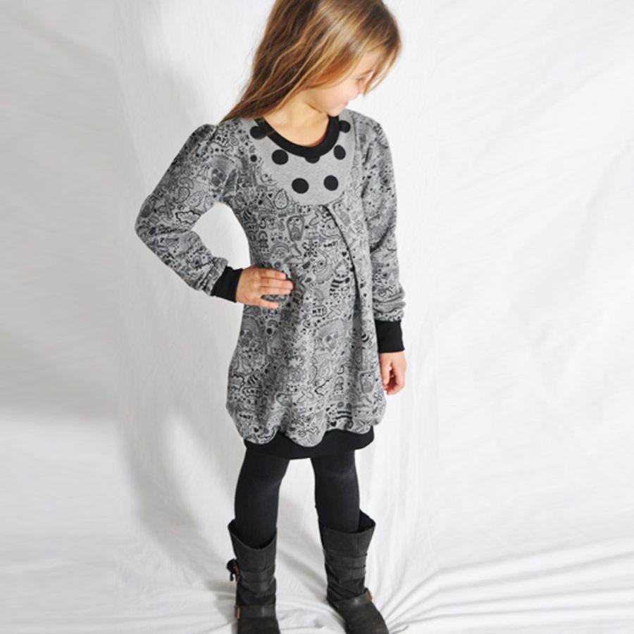 Produktfoto von Leni Pepunkt für Schnittmuster Mädchen-Tochterkleid BALLOON.dress