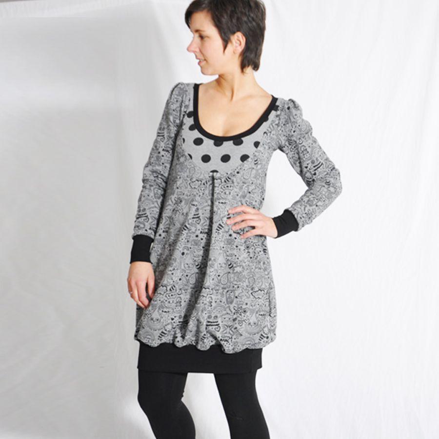 Schnittmuster Frauen-Mutterkleid BALLOON.dress von Leni Pepunkt