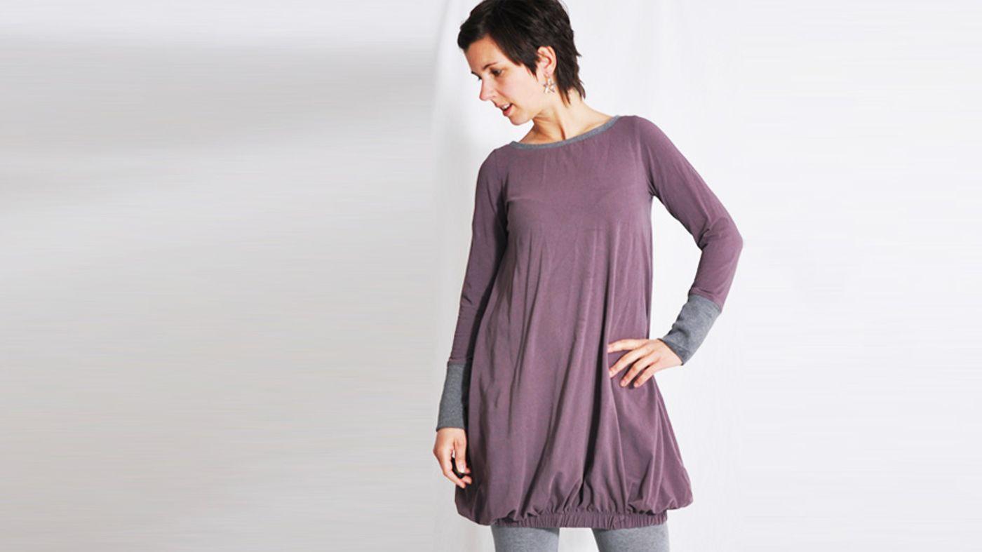 Produktfoto von Leni Pepunkt für Schnittmuster Shirt & Kleid relax.me