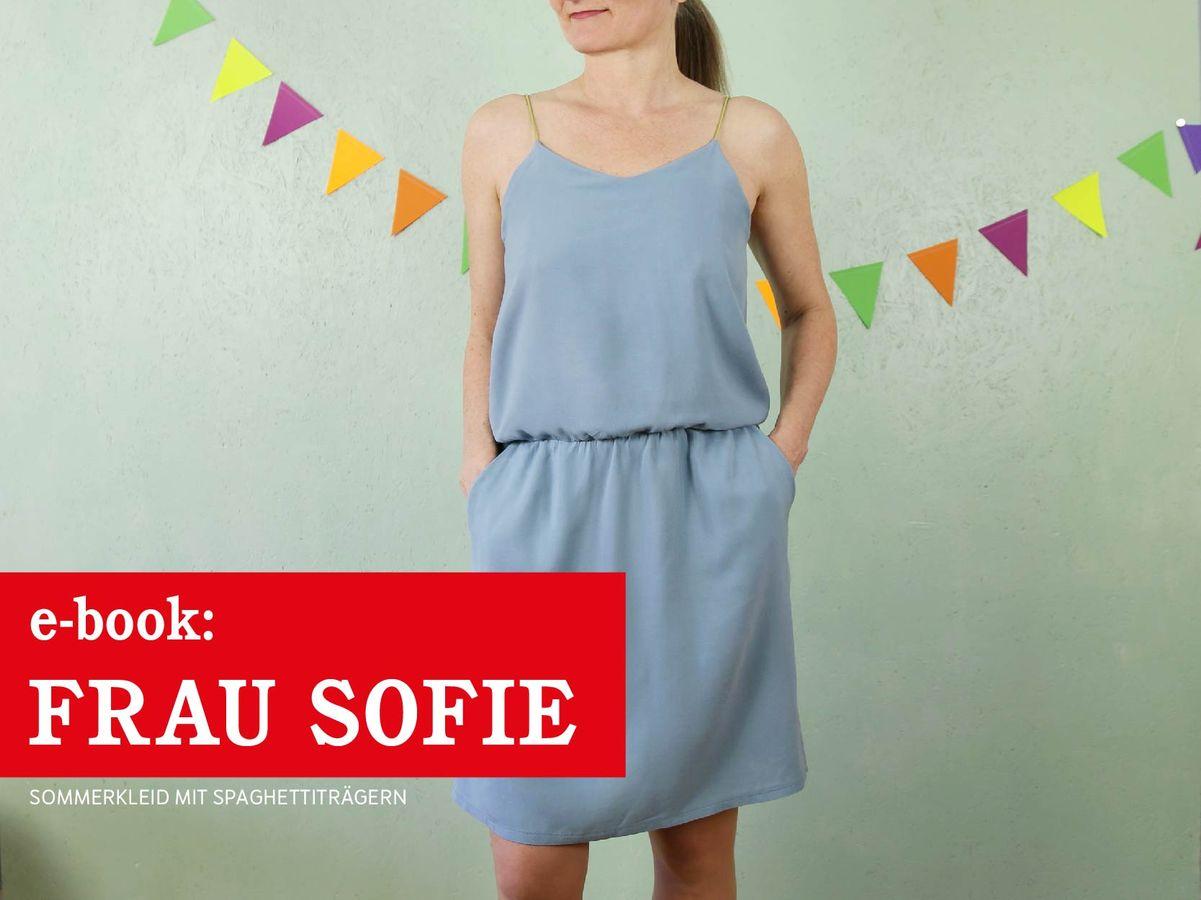 Produktfoto von schnittreif für Schnittmuster Frau Sofie