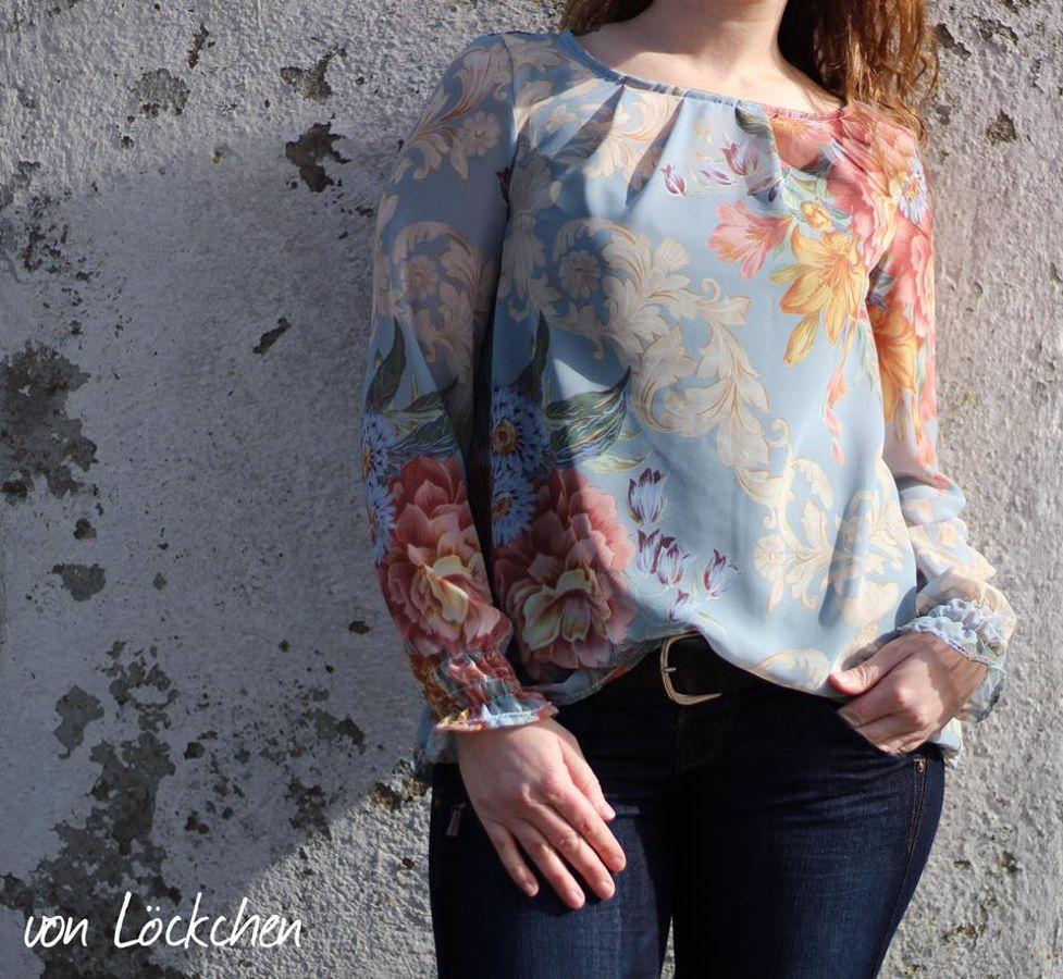 Produktfoto von textilsucht für Schnittmuster Moana Bluse & Top