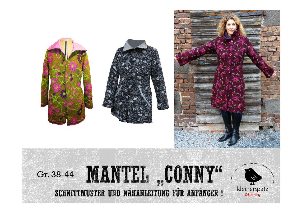 Produktfoto von kleinerspatz für Schnittmuster Mantel Conny