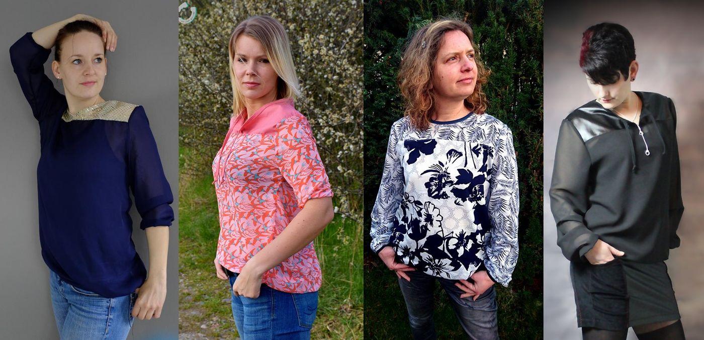 Produktfoto von Frau Ninchen für Schnittmuster Lizz