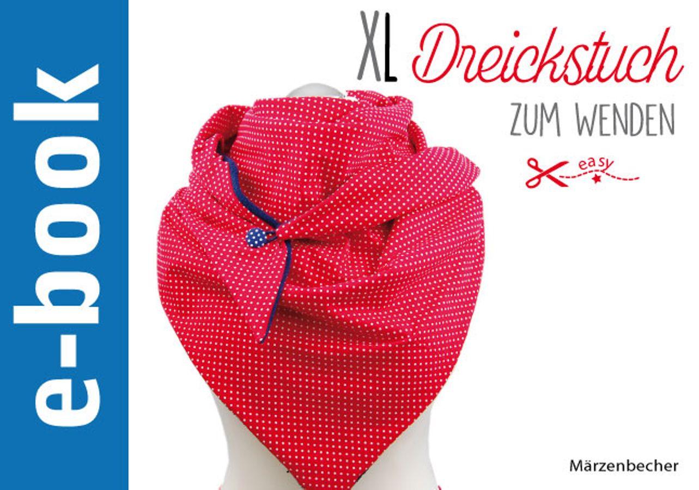 Produktfoto von Märzenbecher für Schnittmuster XL Dreieckstuch zum Wenden