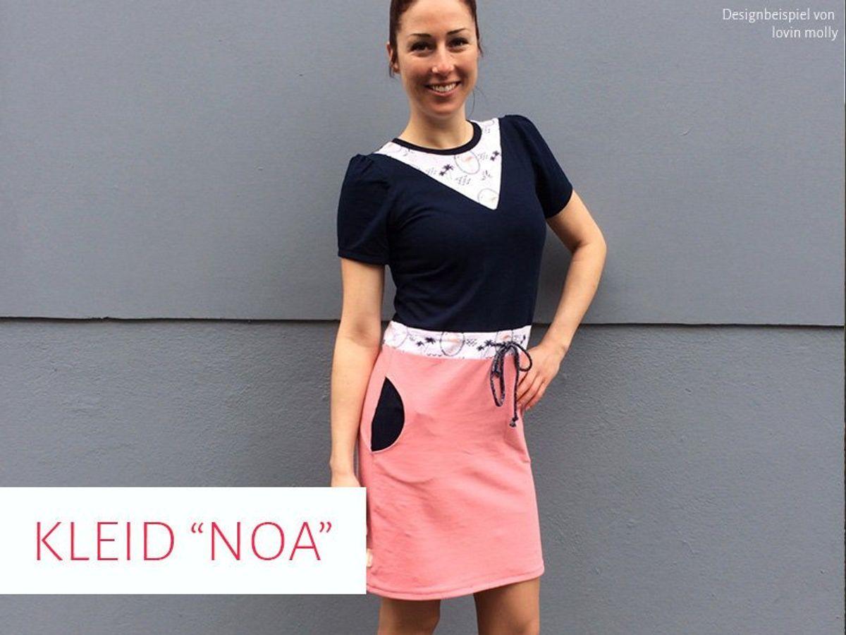 Produktfoto von kreativlabor Berlin für Schnittmuster Kleid Noa