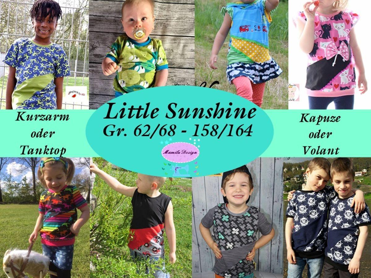 Produktfoto von Mamilu Design für Schnittmuster Shirt Little Sunshine