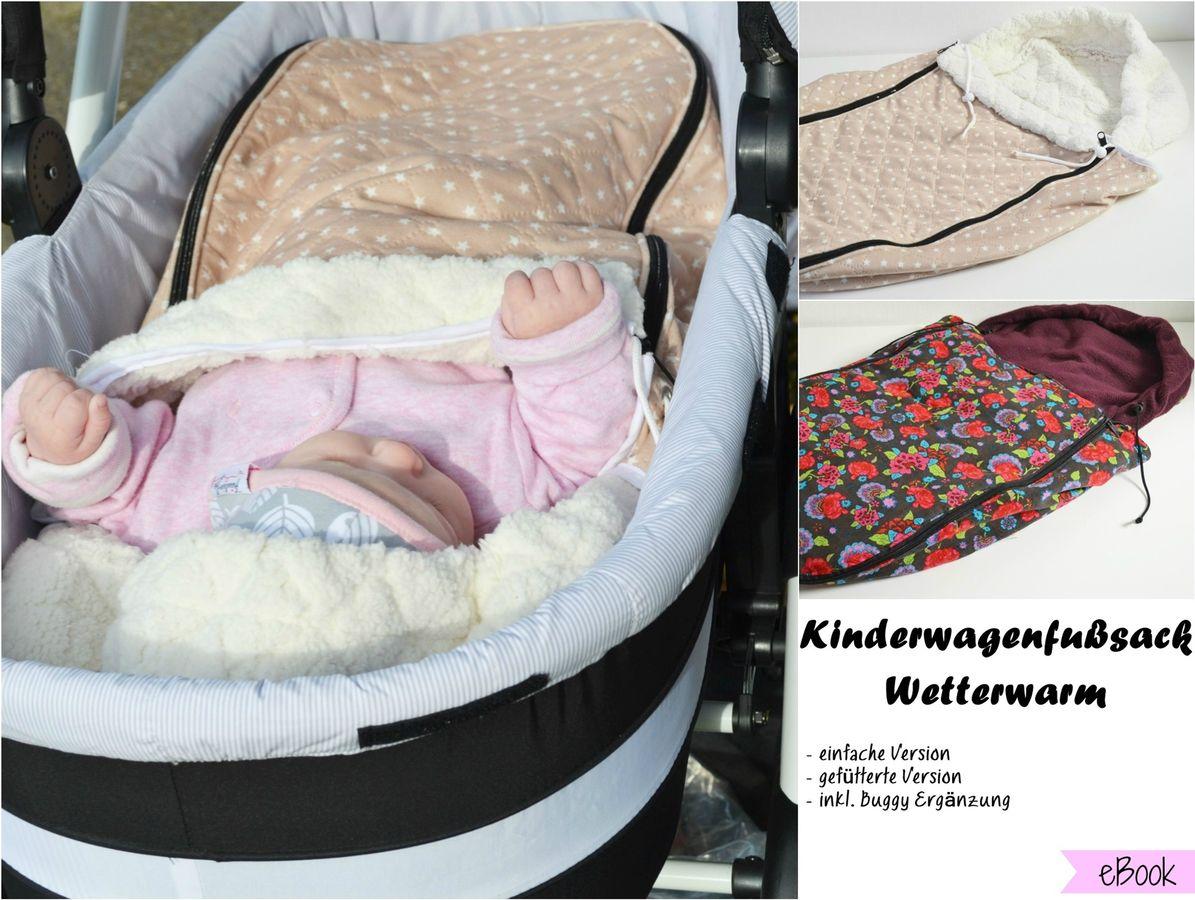 Produktfoto von Fräulein An für Schnittmuster Kinderwagenfußsack Wetterwarm