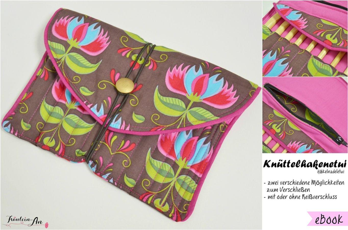 Produktfoto von Fräulein An für Schnittmuster Knüttelhakenetui