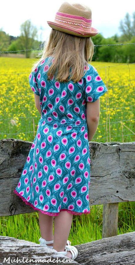 Produktfoto von textilsucht für Schnittmuster Federleicht Kinderkleid
