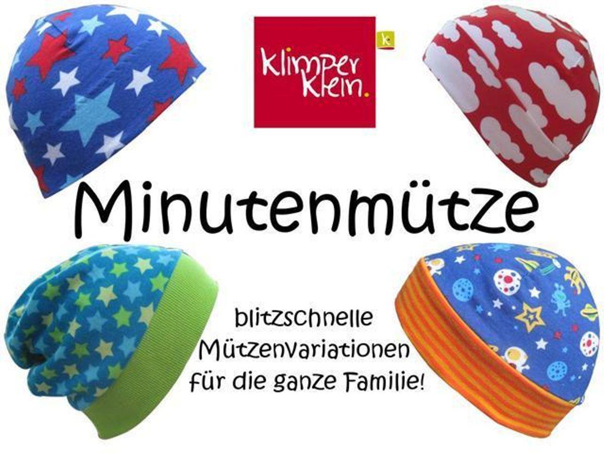 Produktfoto von klimperklein für Schnittmuster Minutenmütze