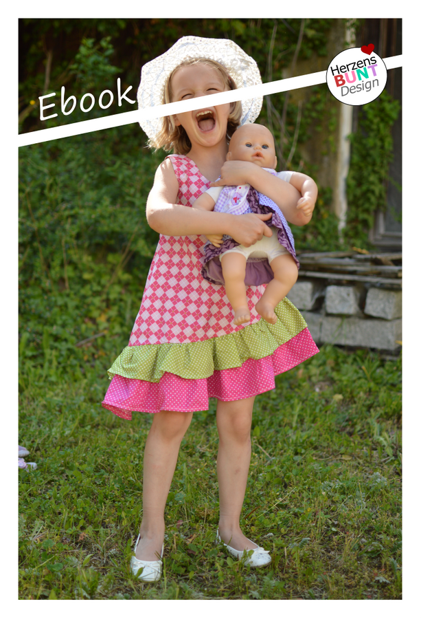 Produktfoto von Herzensbunt Design für Schnittmuster Daisy Dress