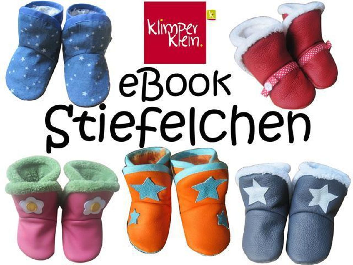 Produktfoto von klimperklein für Schnittmuster Stiefelchen