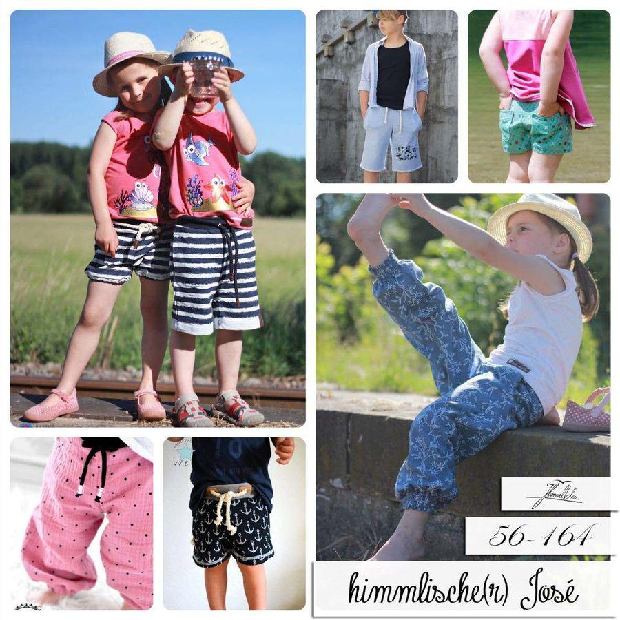 Produktfoto von Himmelblau. für Schnittmuster Himmlische(r) José