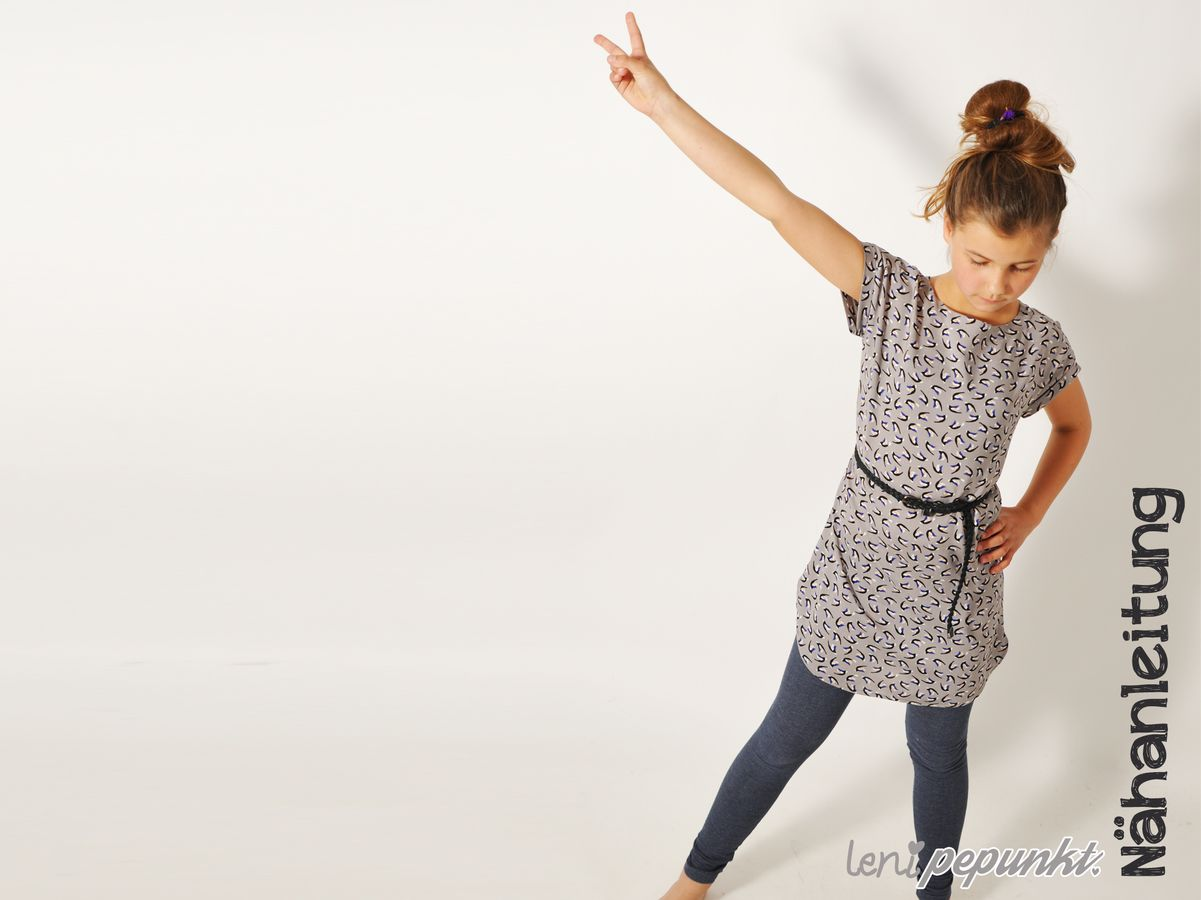 Produktfoto von Leni Pepunkt für Schnittmuster SOMMER.bluse4Teenies