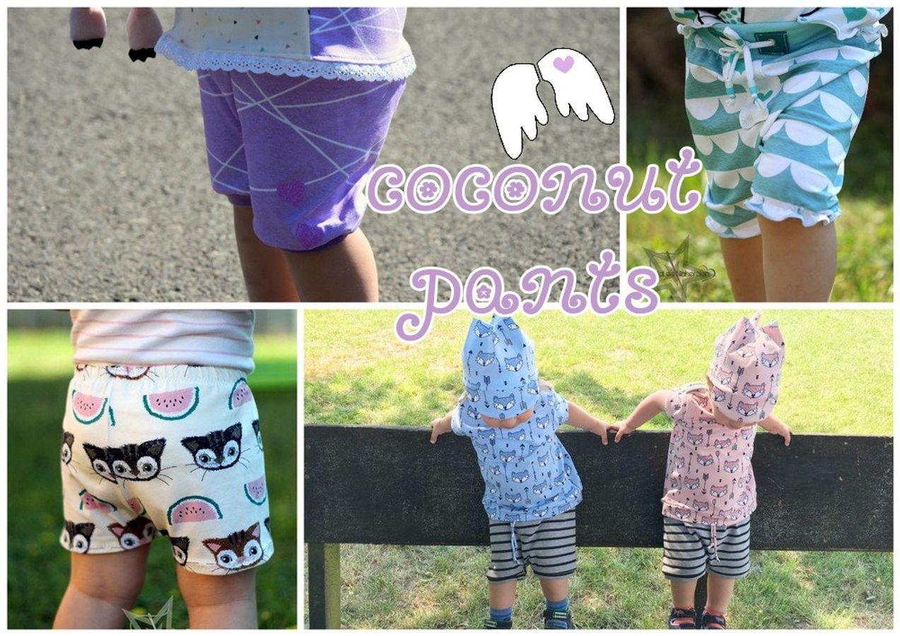 Produktfoto von Engelinchen für Schnittmuster Coconut Pants