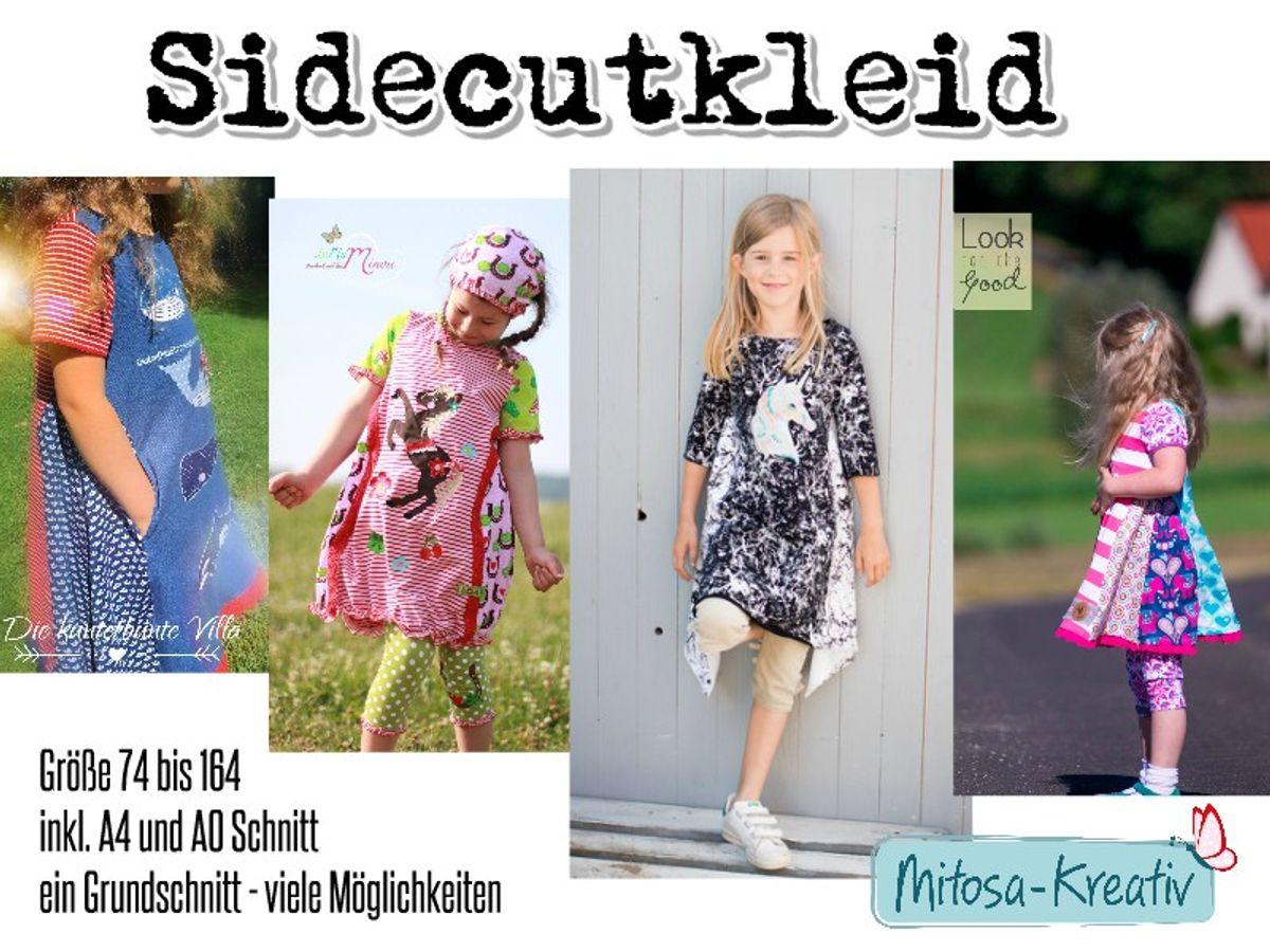 Produktfoto von MiToSa-Kreativ für Schnittmuster Sidecut Kleid / Tunika