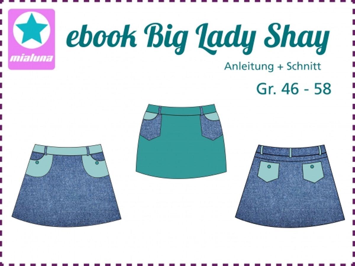 Produktfoto von mialuna für Schnittmuster Big Lady Shay