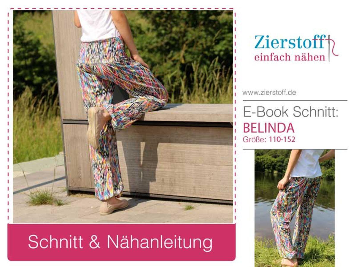 Produktfoto von Zierstoff für Schnittmuster Belinda 110-152
