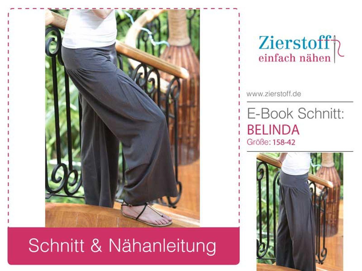 Produktfoto von Zierstoff für Schnittmuster Belinda 158-42