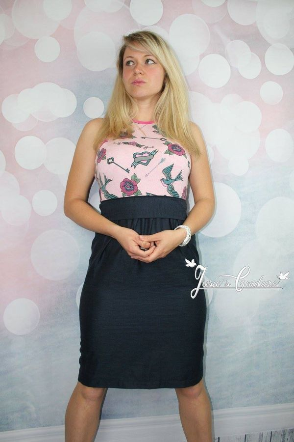 Produktfoto von textilsucht für Schnittmuster Sommerkleid Kelani