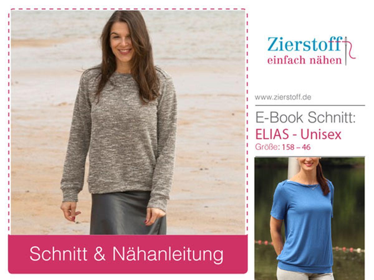 Produktfoto von Zierstoff für Schnittmuster Elias 158-46 - comfort fit