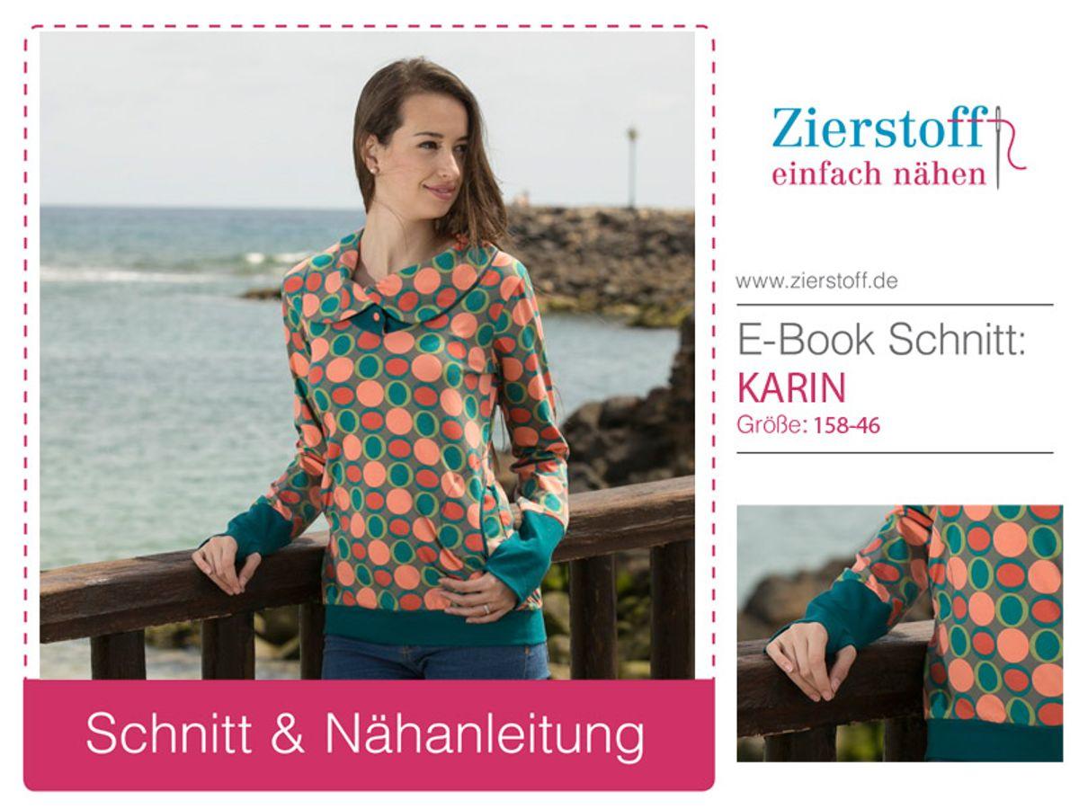 Produktfoto von Zierstoff für Schnittmuster Karin