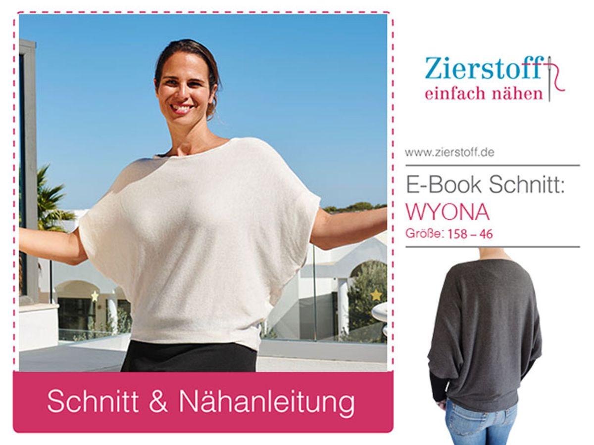 Produktfoto von Zierstoff für Schnittmuster Wyona