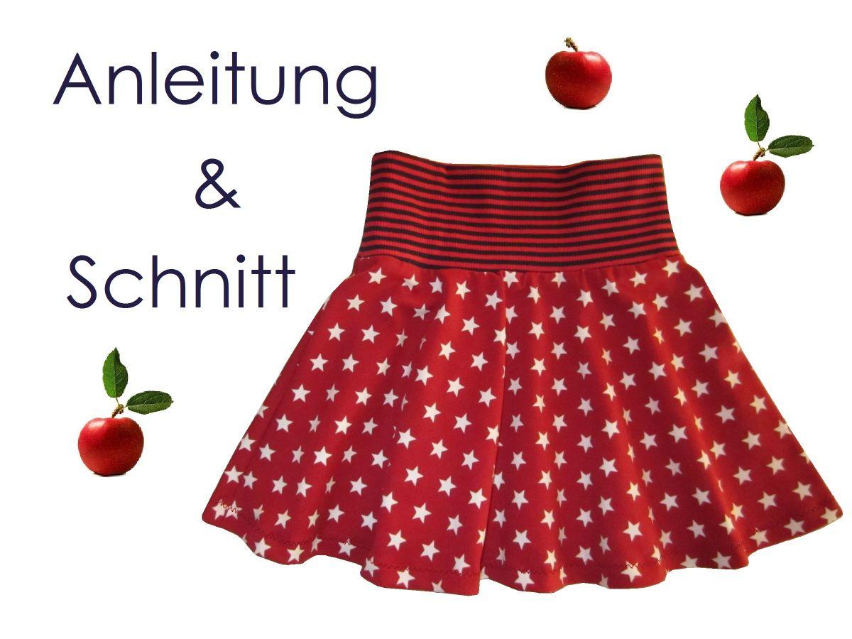 Produktfoto von Lunicum für Schnittmuster Tellerrock Mädchen
