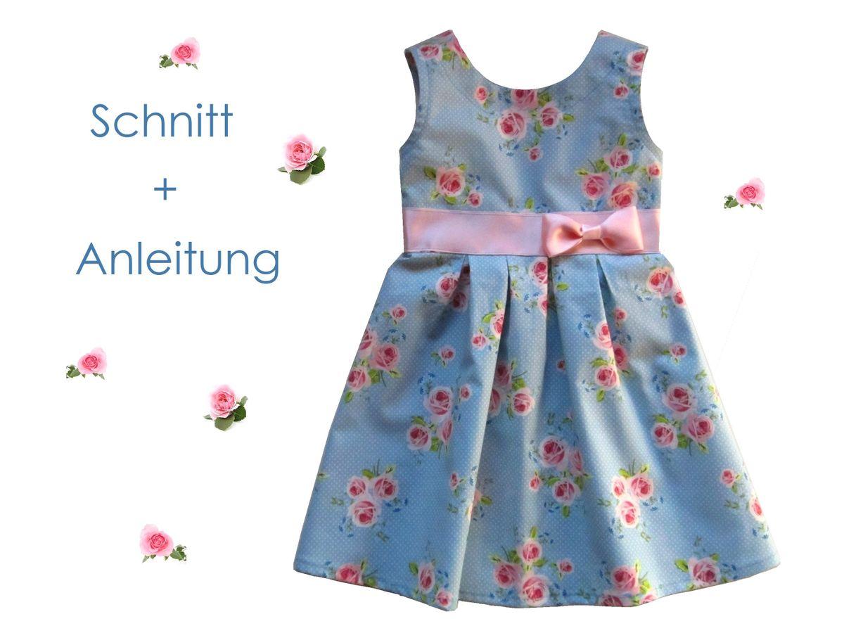 Schnittmuster Blumenmädchen-Kleid von Lunicum