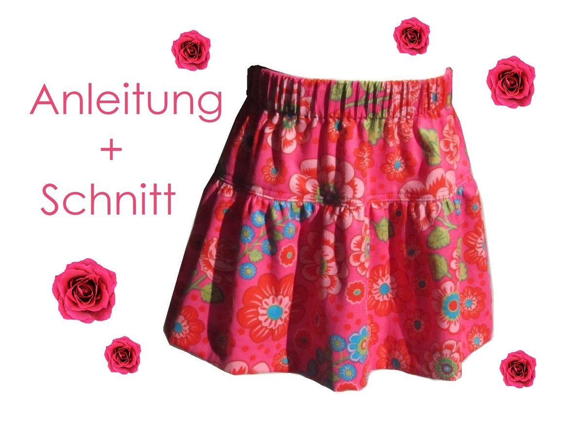 Produktfoto von Lunicum für Schnittmuster Stufenrock Mädchen