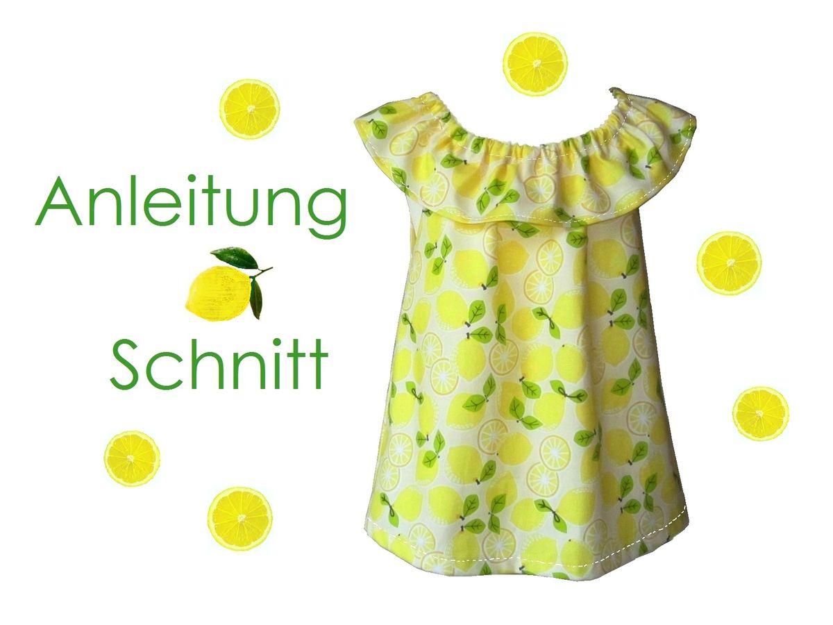 Produktfoto von Lunicum für Schnittmuster Rüschen-Top