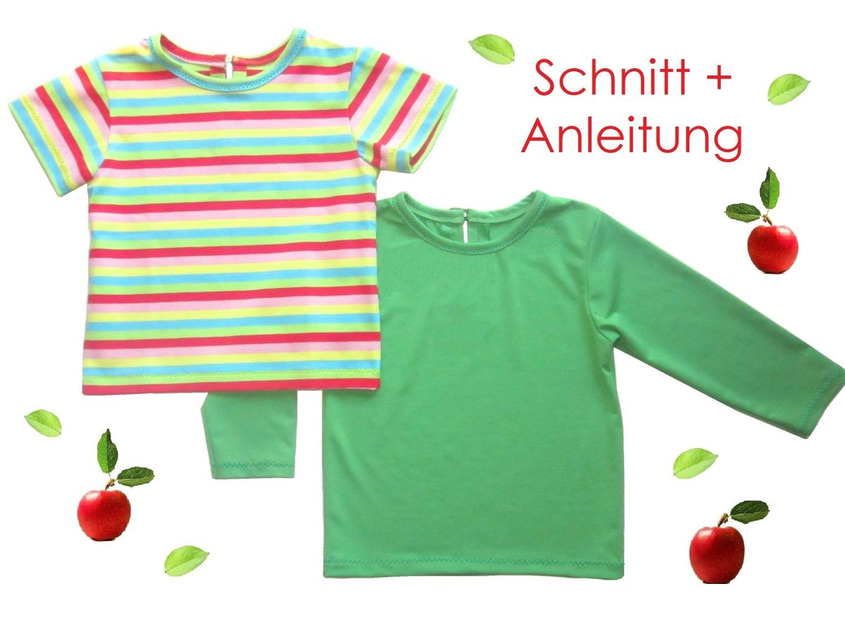Produktfoto von Lunicum für Schnittmuster Baby + Kleinkinder T-Shirt