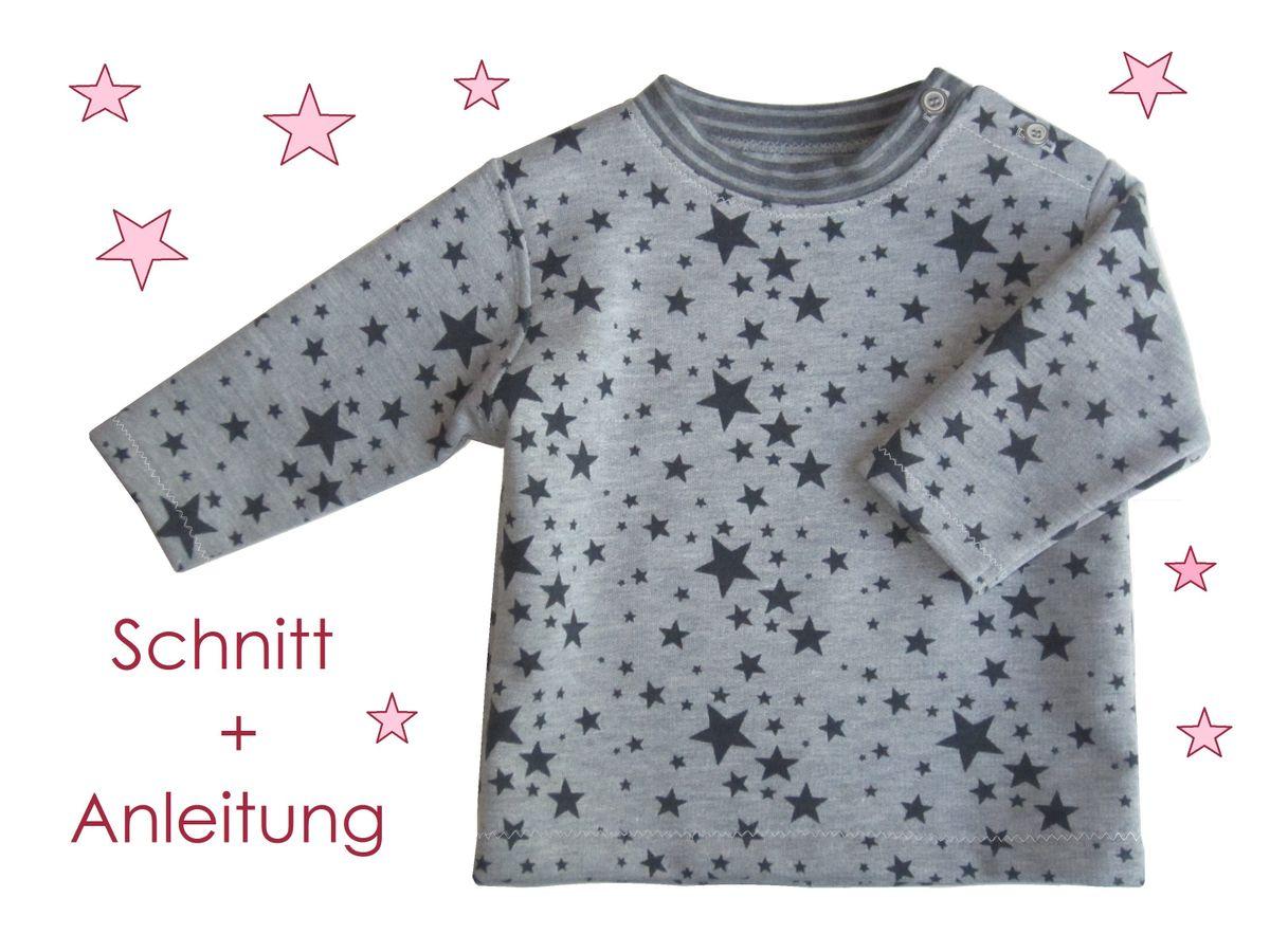 Produktfoto von Lunicum für Schnittmuster Baby Sweatshirt mit Verschluss