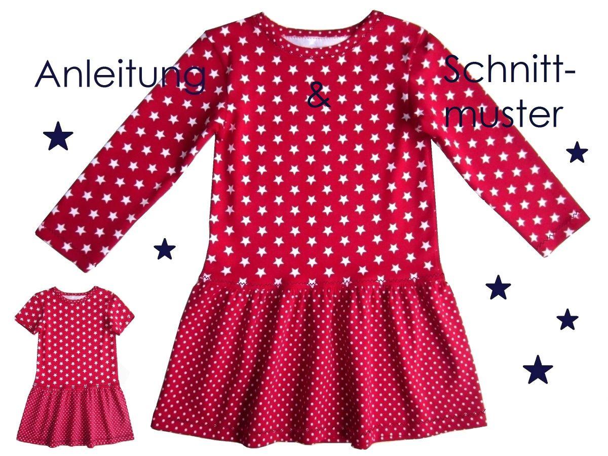 Produktfoto von Lunicum für Schnittmuster Jerseykleid Mädchen