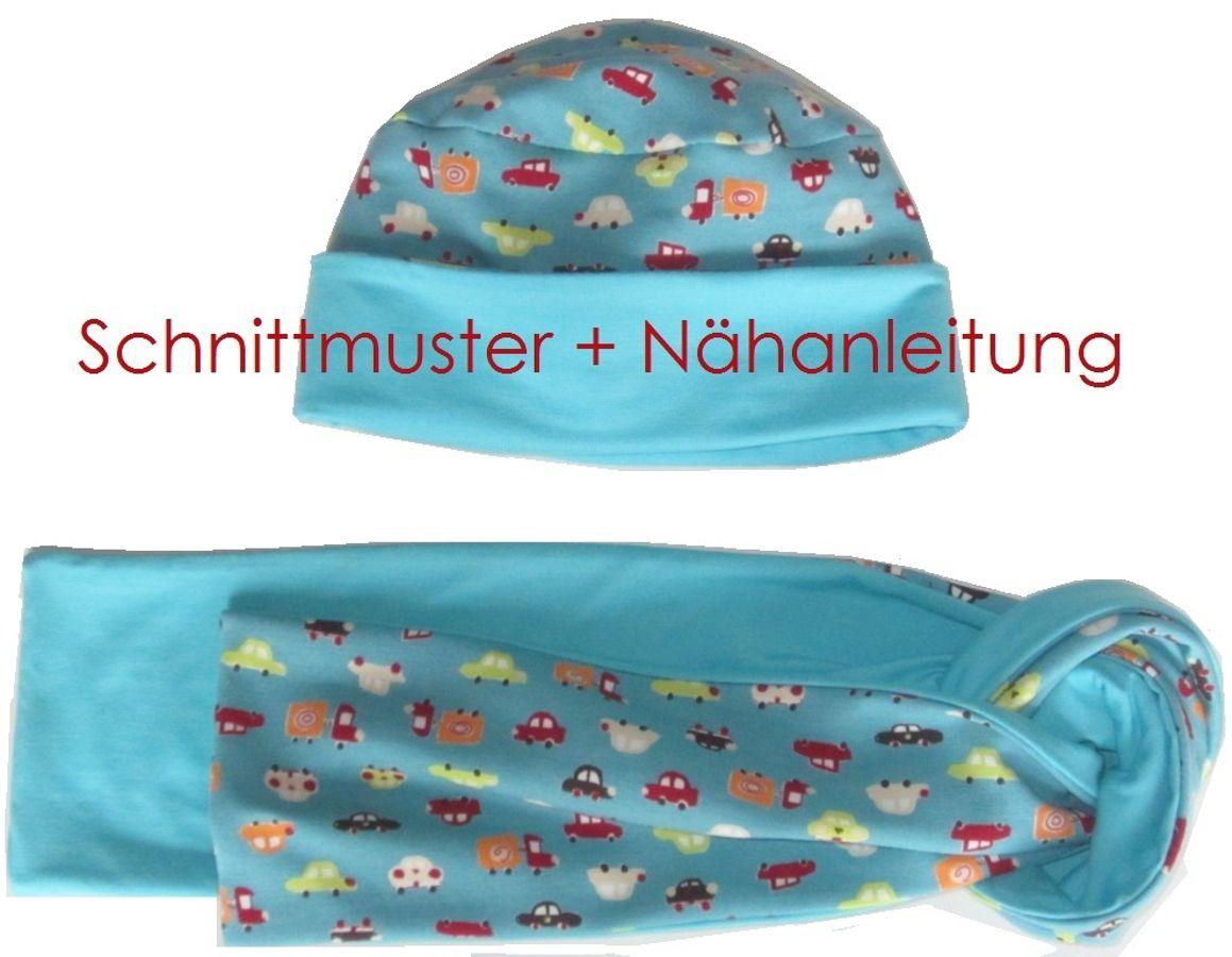 Produktfoto von Lunicum für Schnittmuster 4-Varianten-Mütze + Schal