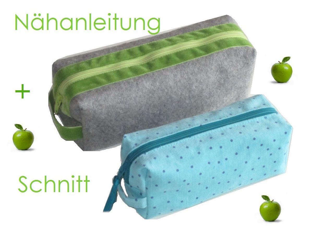 Produktfoto von Lunicum für Schnittmuster Schlampermäppchen Schminktasche
