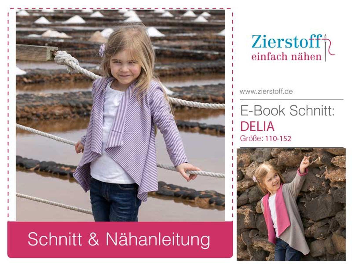Produktfoto von Zierstoff für Schnittmuster Delia 110-152