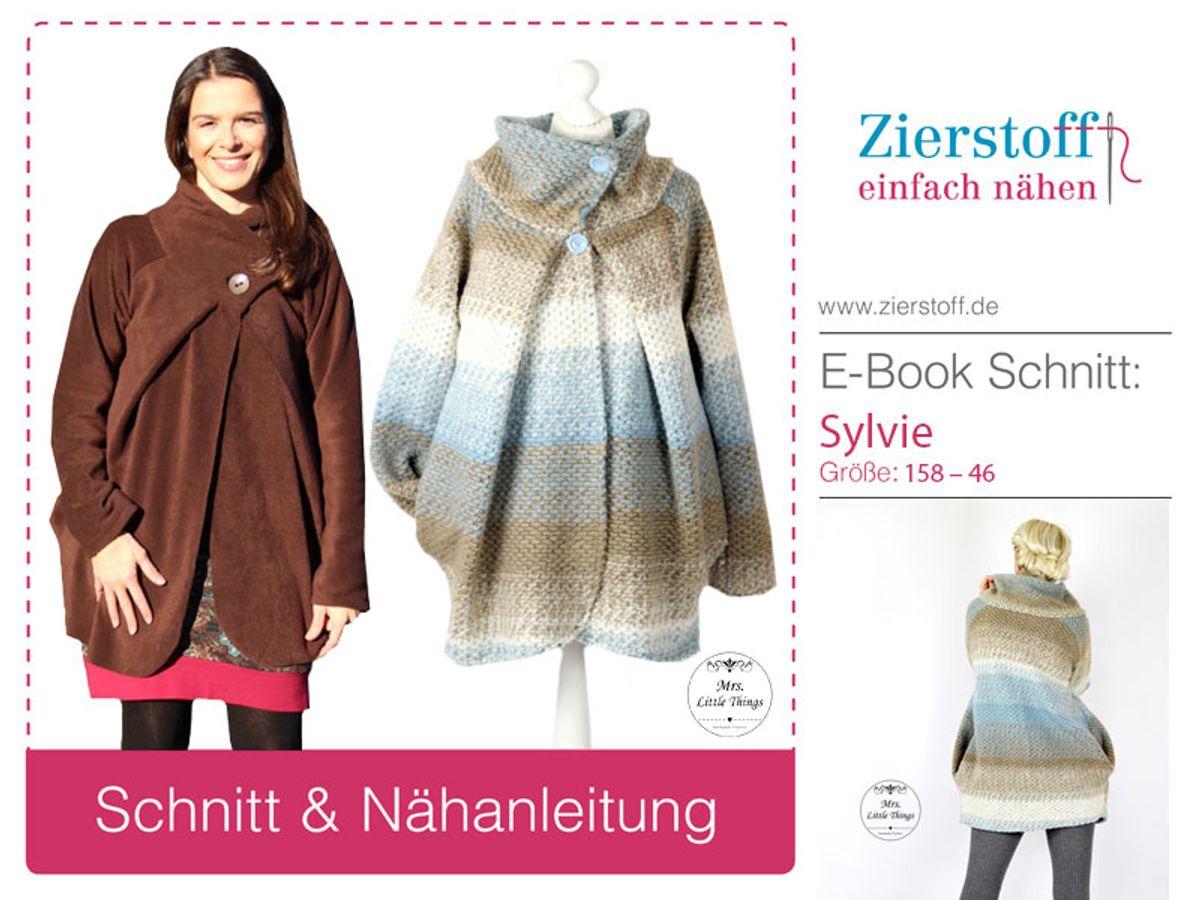 Produktfoto von Zierstoff für Schnittmuster Sylvie 158-46